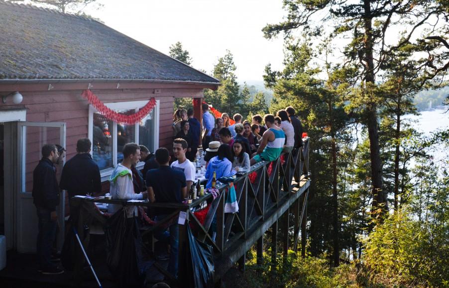 Mingle at the cabin