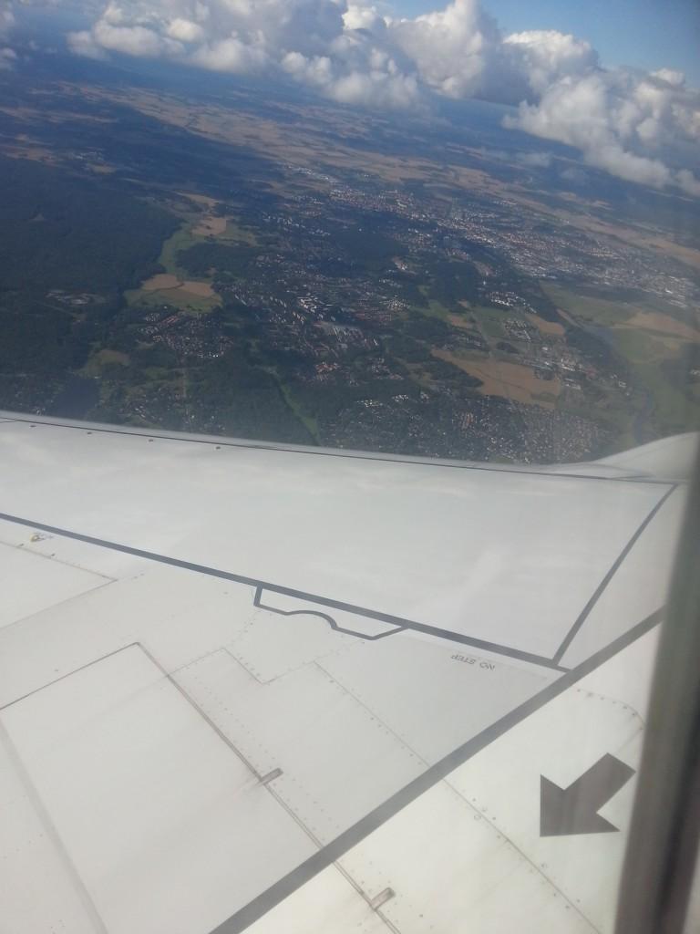 Landing in Stockholm