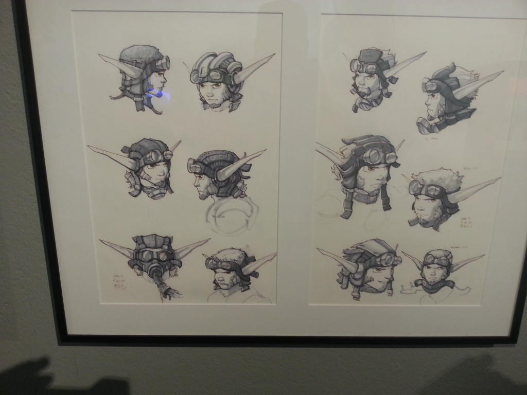 Original Jak and Daxter Concept Art... NIIIIIIICE :D