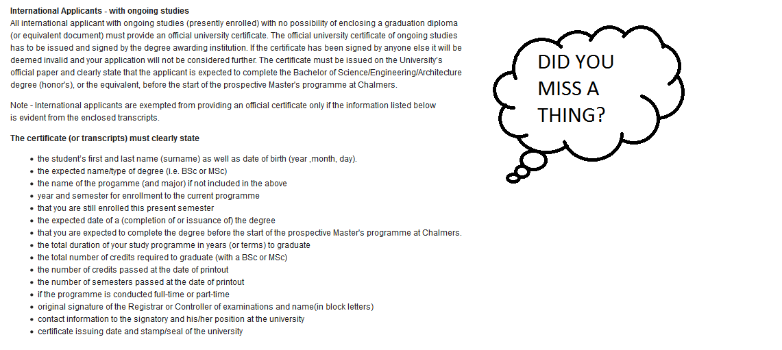 How I applied to master\'s studies at Chalmers Automotive ...