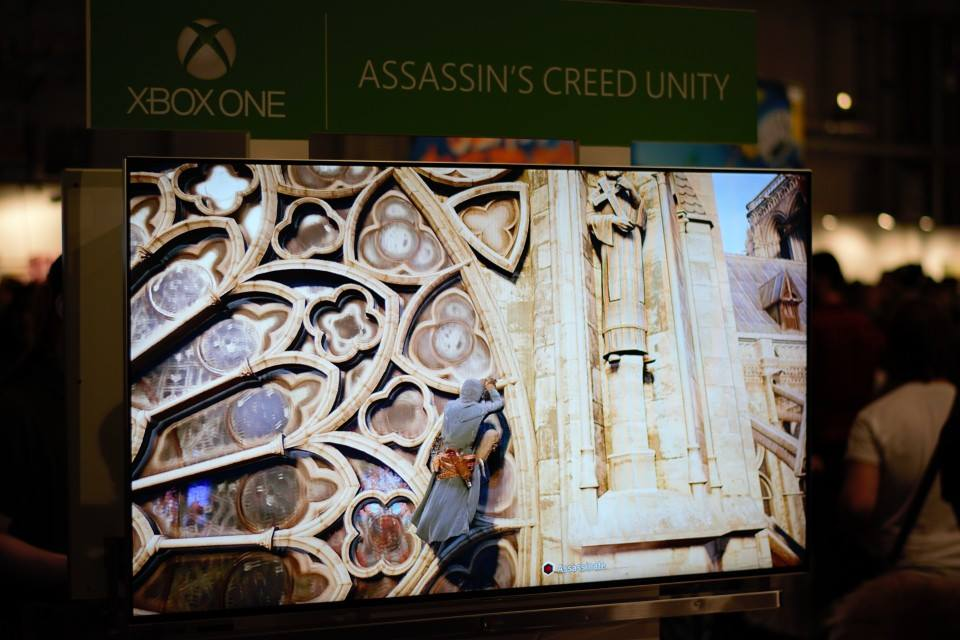Playing some Assassin's Creed Unity