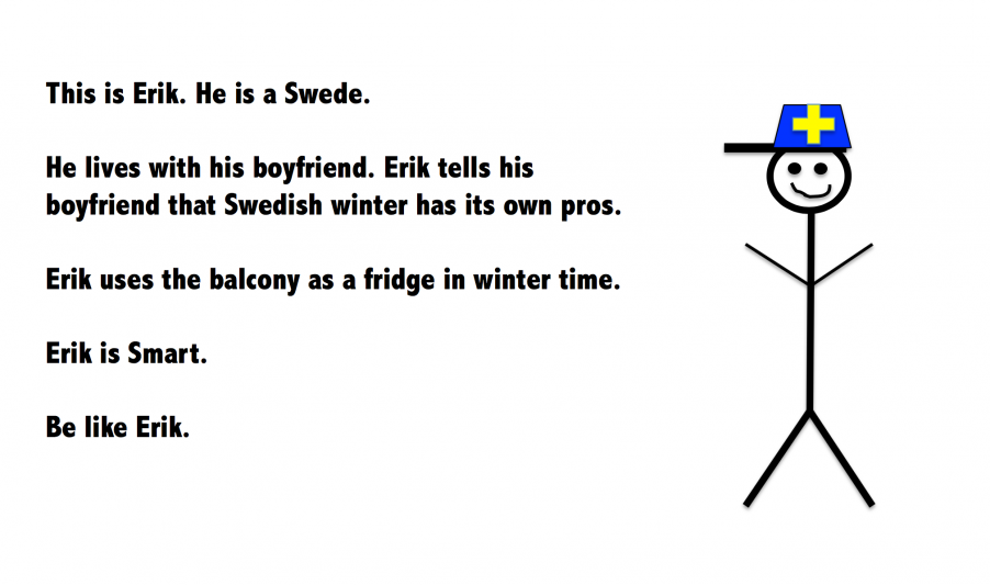 Be like a swede
