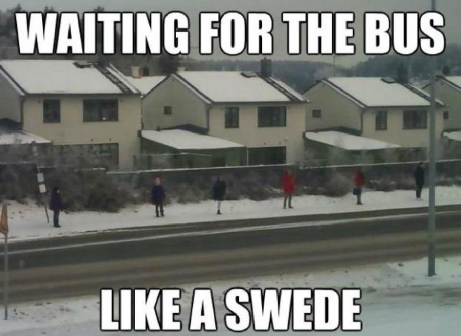 bus like a swede