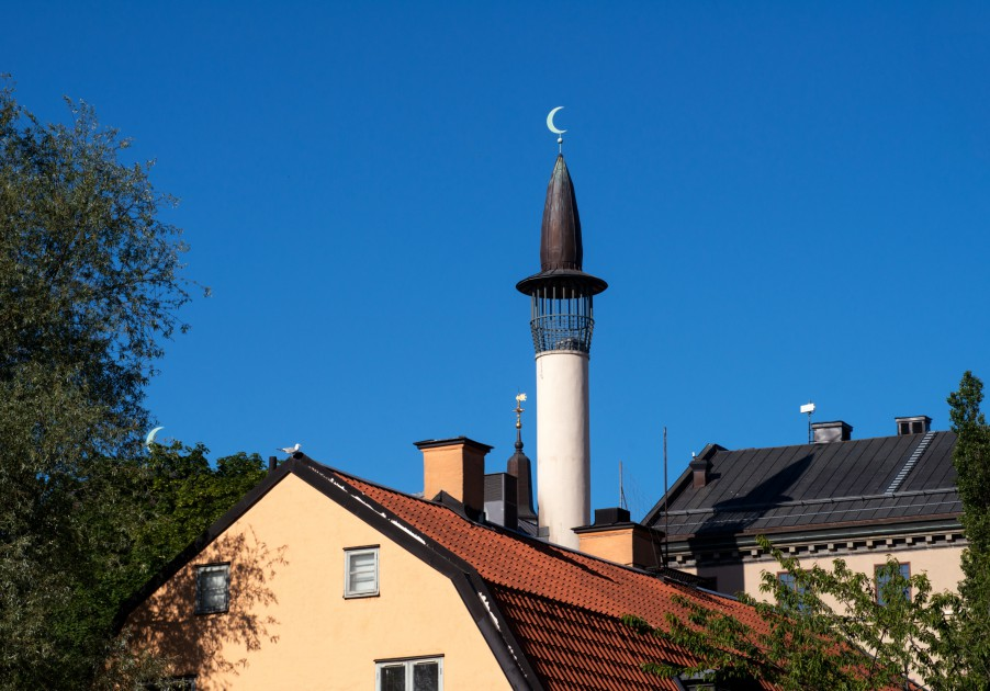 Stockholm Mosque by Cecilia Larsson
