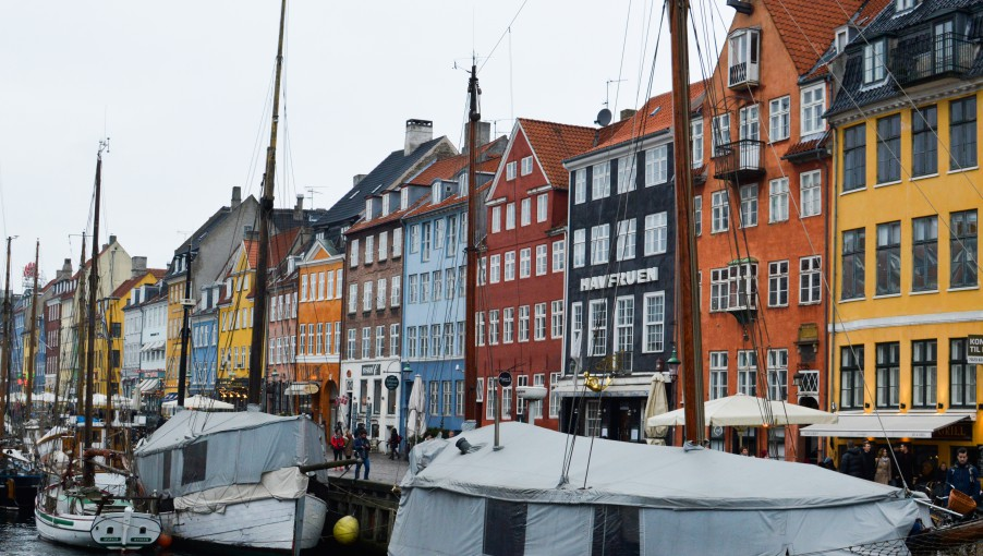 The most famous touristy place and the face of Copenhagen on postcards