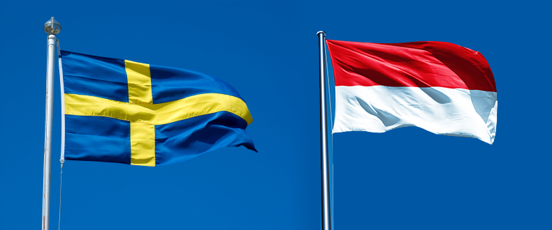Sweden and Indonesia