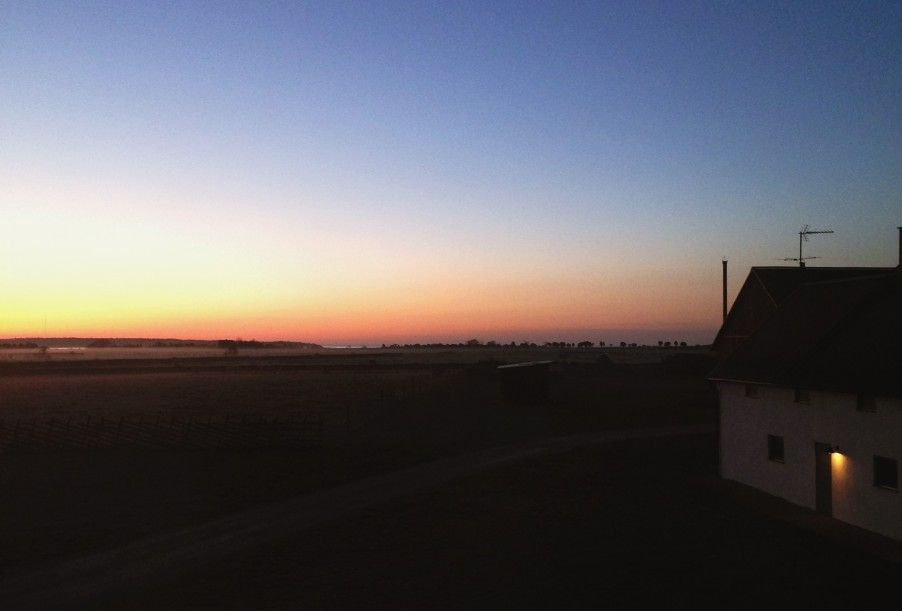 Sunrise in Fårö, Gotland