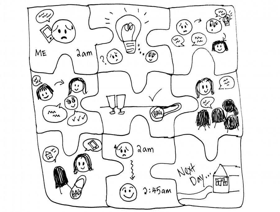 Illustration of mission process