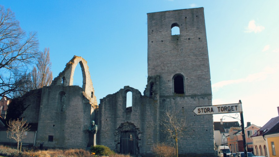church ruin in Visby Gotland