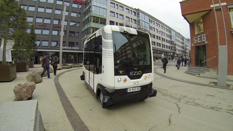 the driverless bus