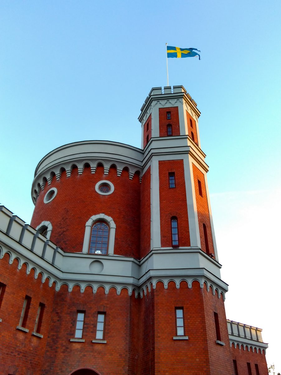 the red castle of Kastellholmen