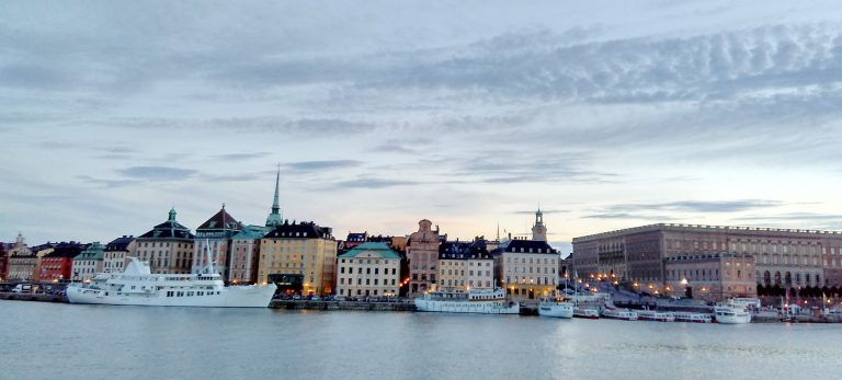 Gamla Stan as seen from Skeppsholmen