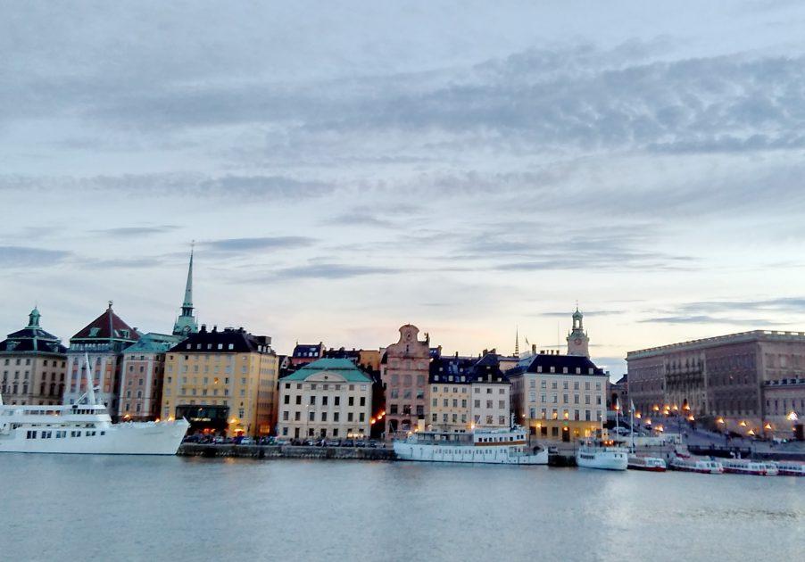 Gamla Stan as seen from Skeppsholmen