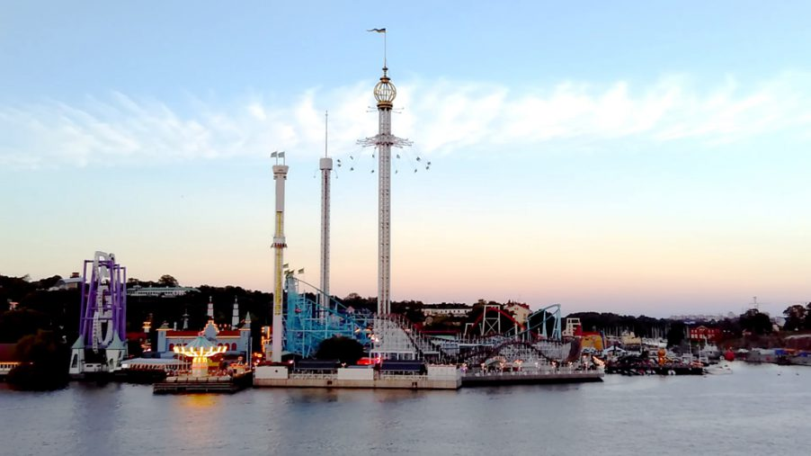 Gröna Lund as seen from Kastellholmen