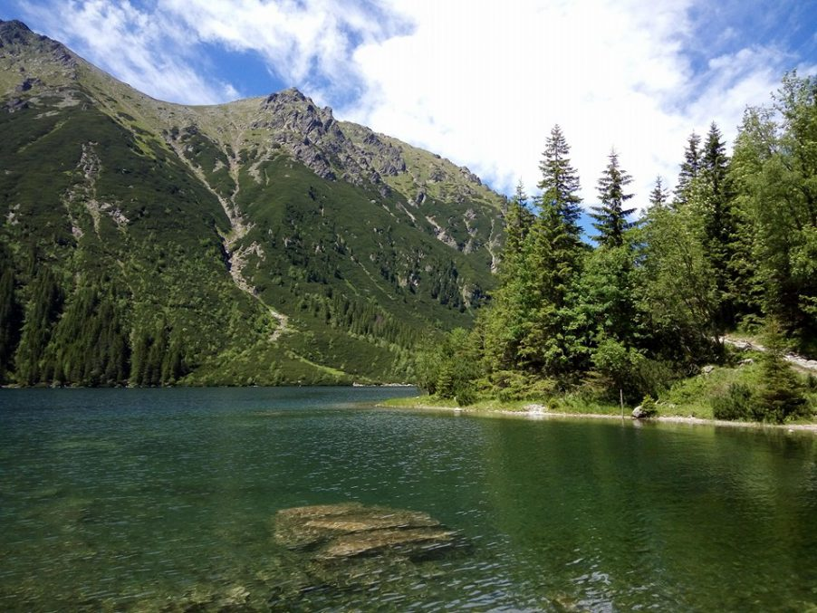 Morskie Oko in Tatra National Park, by Suci Layung Sari