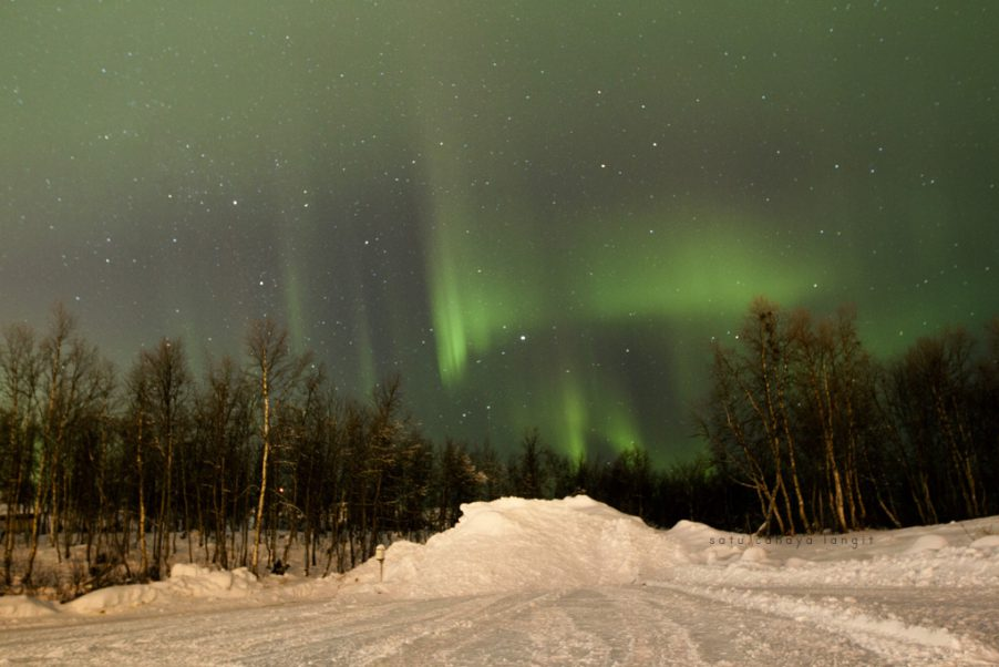 Northern Light in Kiruna