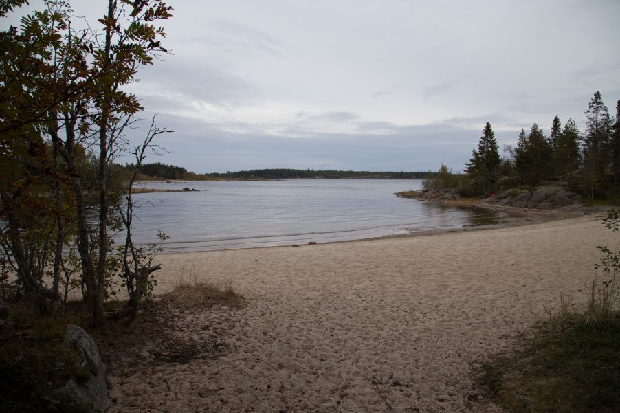 There's a beach in Strömbäck-Kont, so if you go during the summer bring your bathing suit!