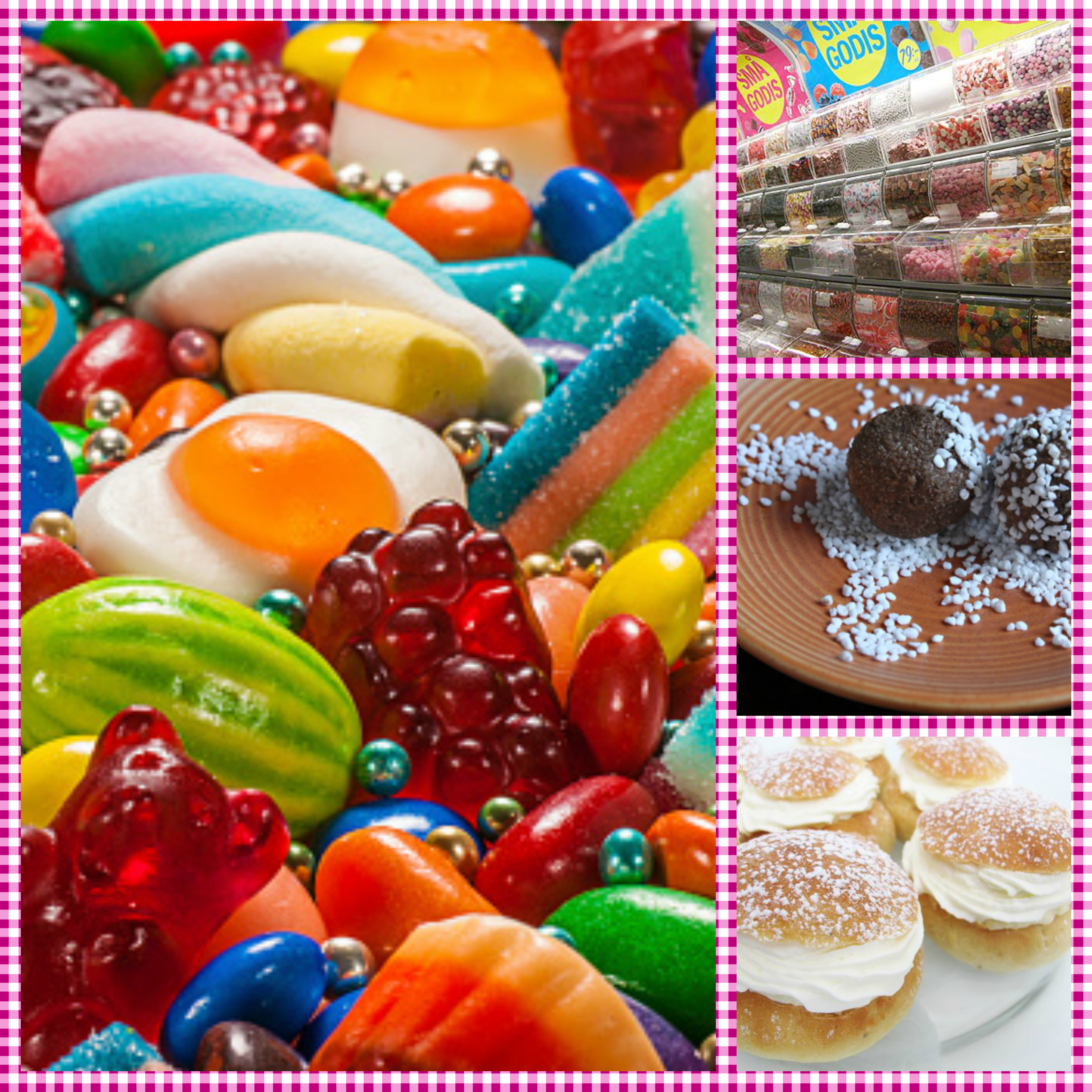 Swedish Candy stores and desserts