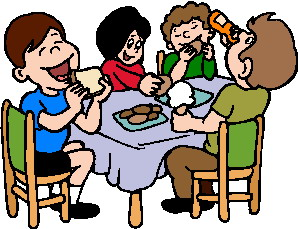 Kids-lunch-clipart-together