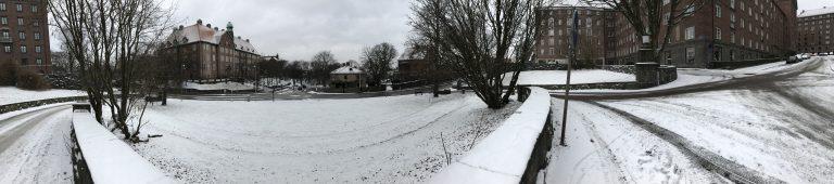 Min första snon (My first snow)