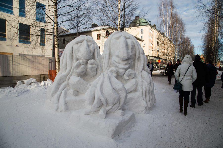 Umeå snow sculpture championship