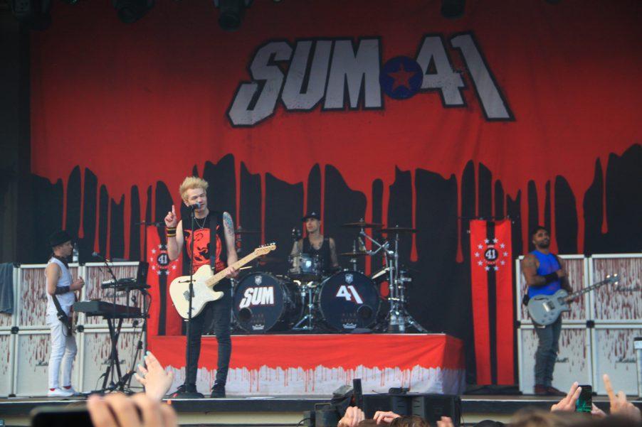 Sum 41 in Stockholm