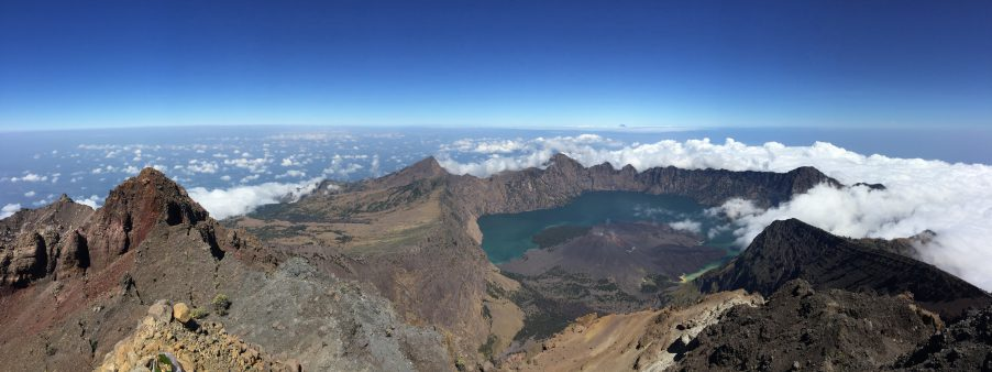 Gunung Rinjani in Indonesia (3726m). Photo by Philipe Gunawan