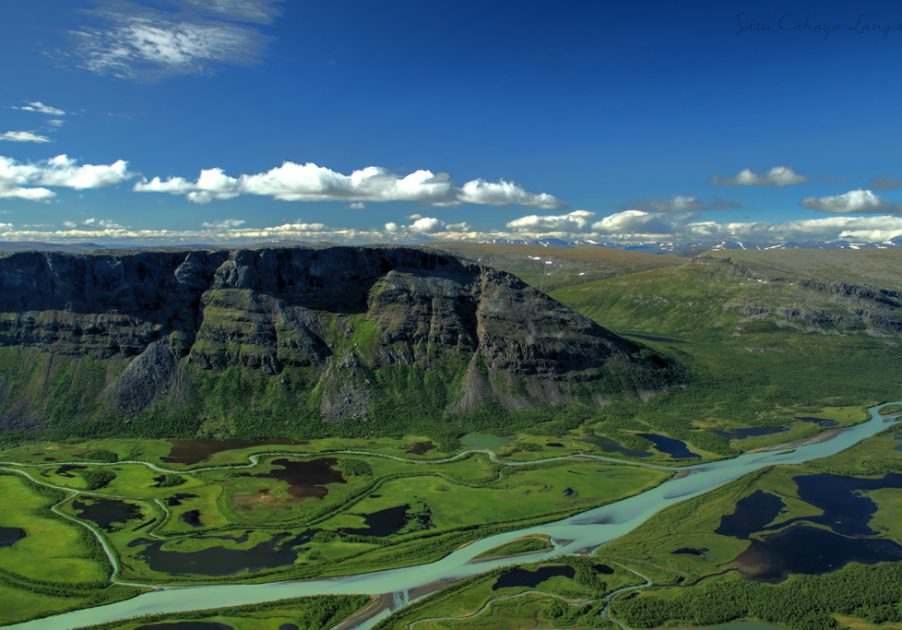 View of Rapadalen from Skierfe