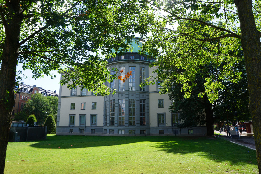My university, Stockholm School of Economics