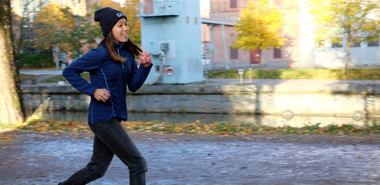 running in uppsala