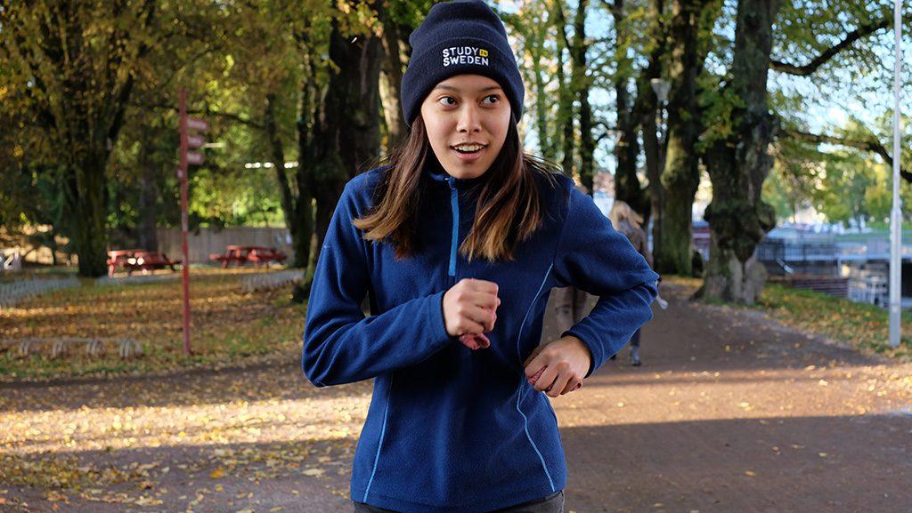Running in Sweden