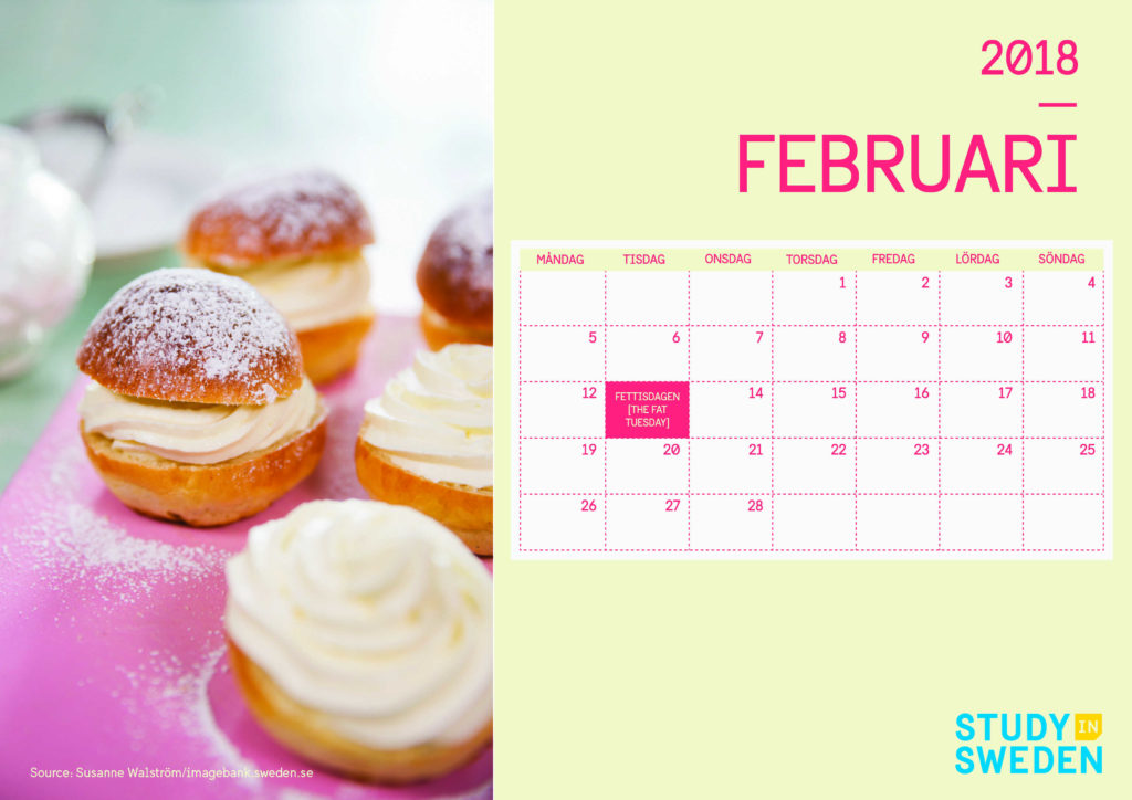 February and semla