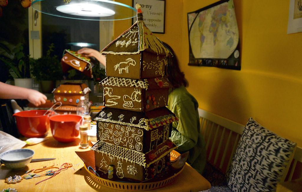 The final pagoda