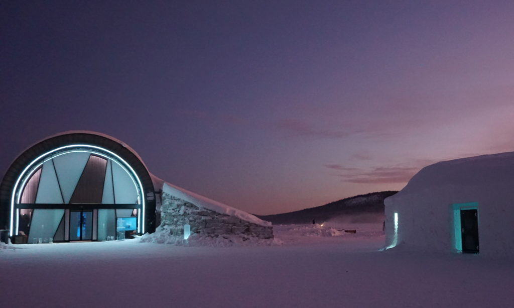 Visiting the Ice Hotel, Source: Inez