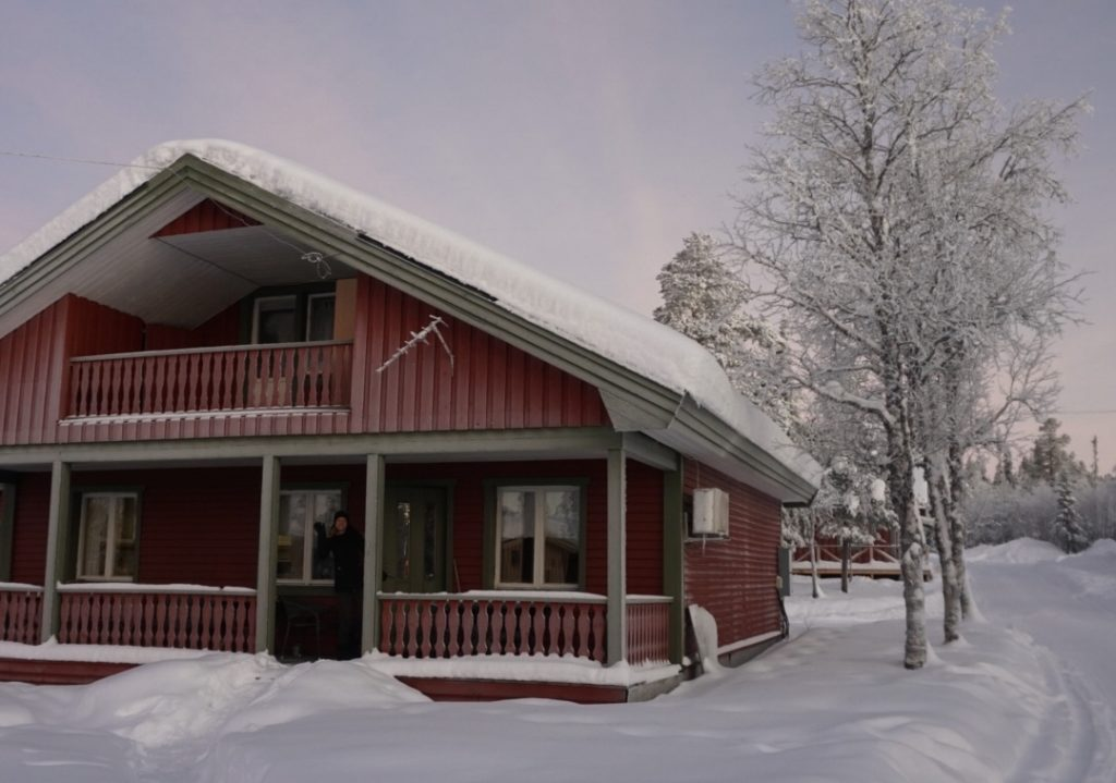 Our cabin in Kiruna, Source: Inez
