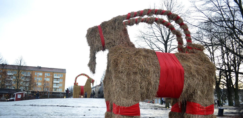 Gävle goat 2017
