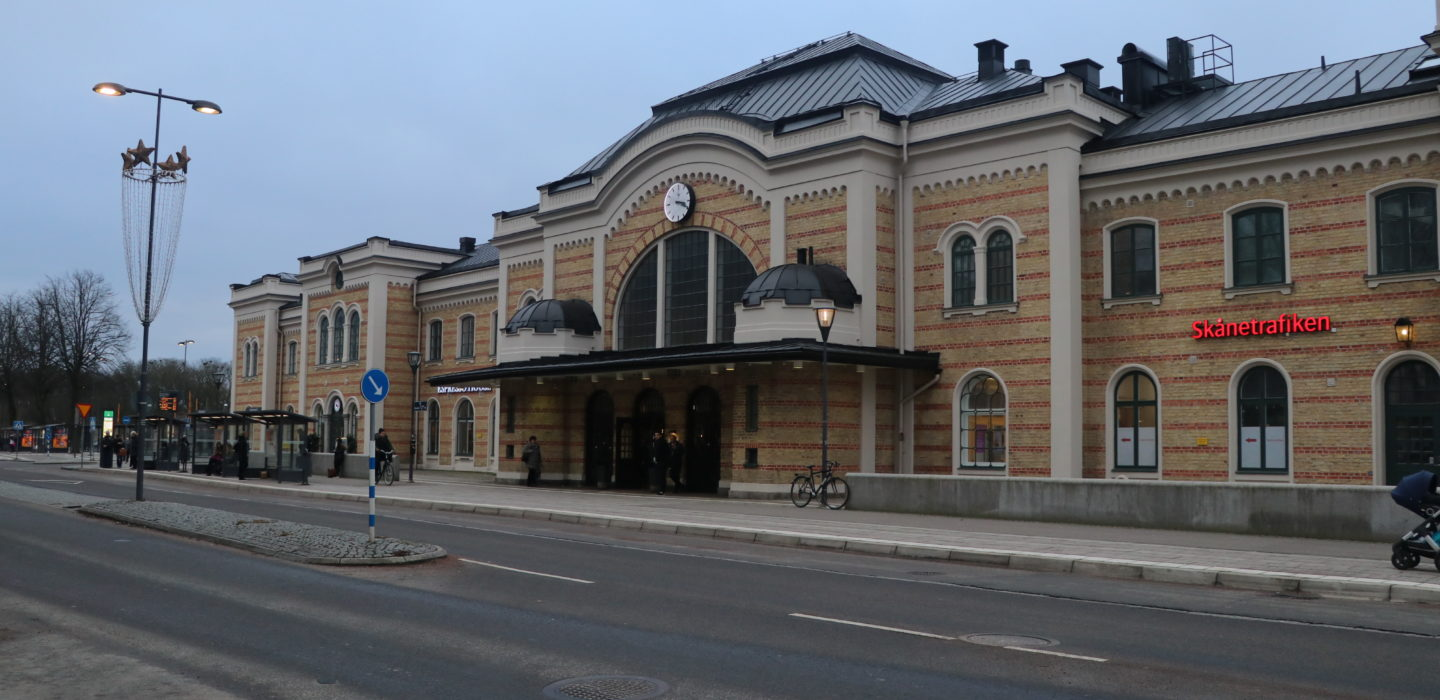 a photo of Kristianstad Central Station