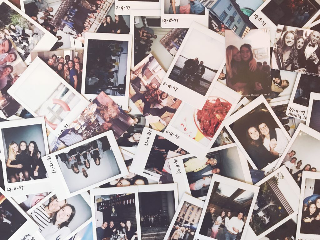 Polaroid pictures, Source: Inez