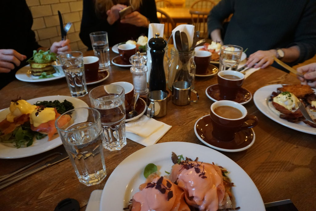 Brunch at Greasy Spoon, Source: Inez