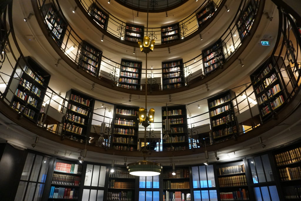 The library, Source: Inez