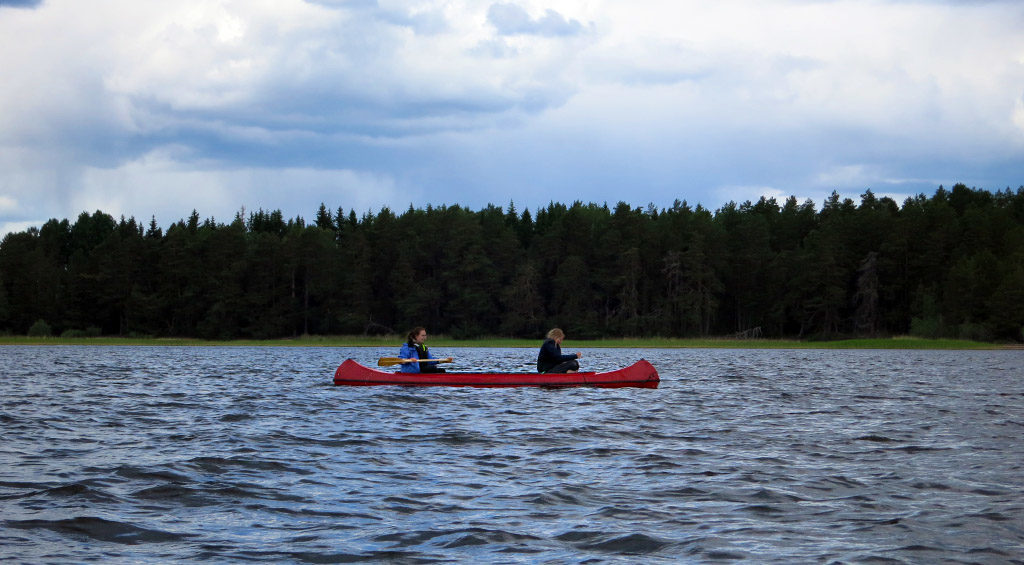 Kayaking at Färnebofjärden (Source: Sania)