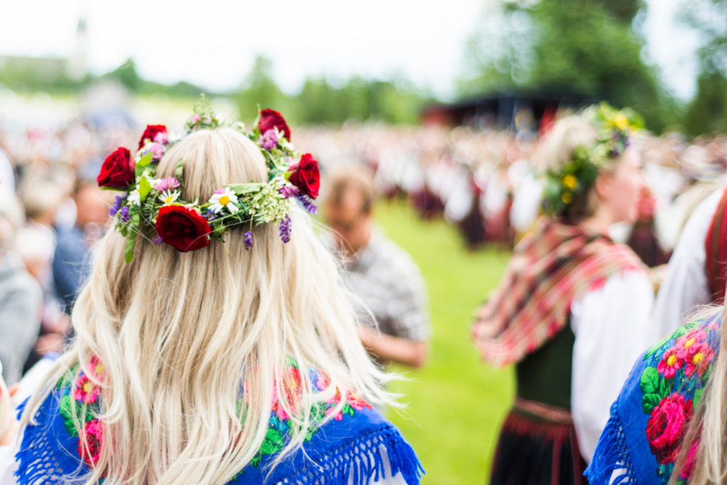 Midsummer in Dalarna (Source: Per Bifrost/imagebank.sweden.se)