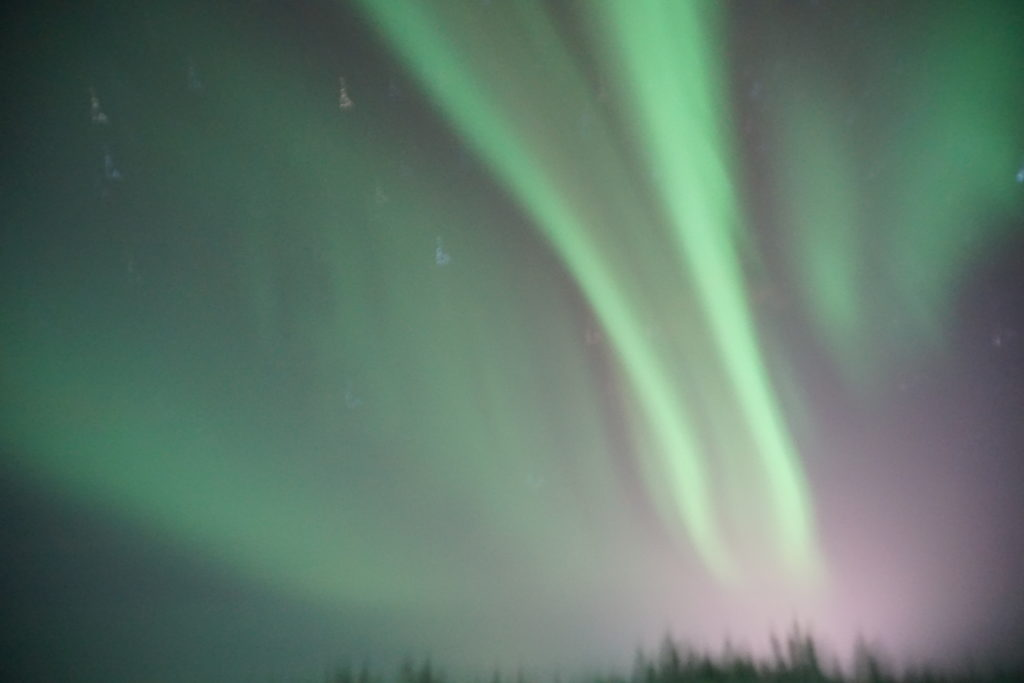 Northern Lights in Kiruna, Source: Inez