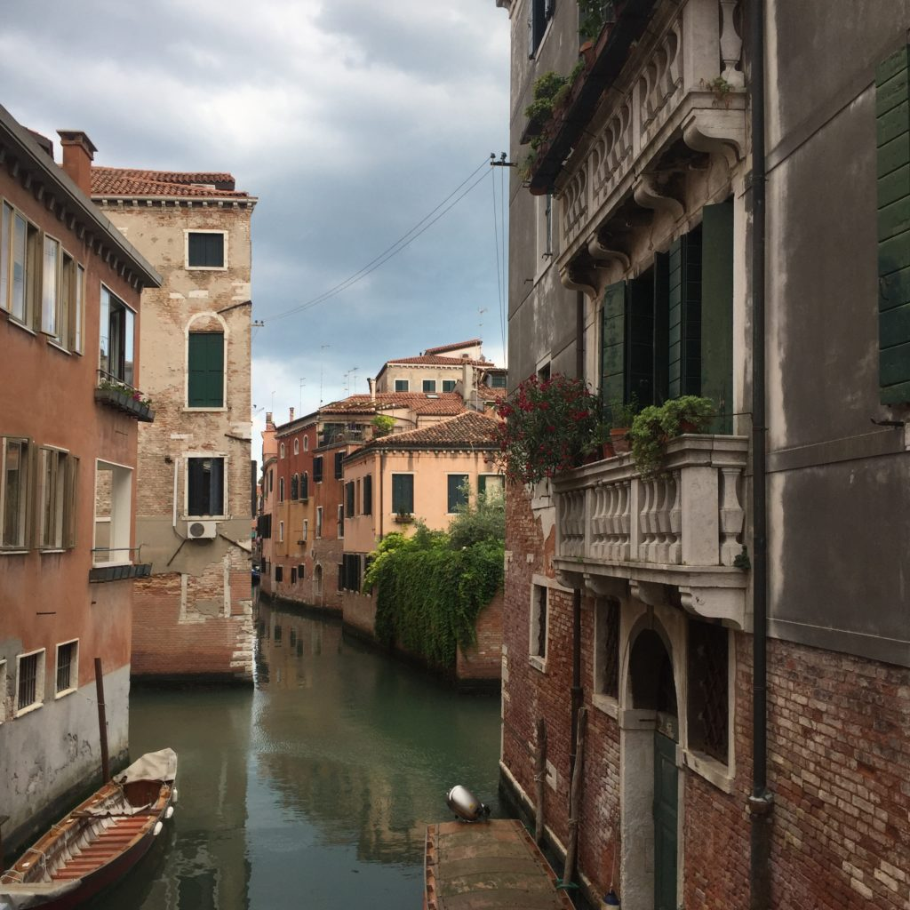Water all up in the buildings' business, Venice in June 2018