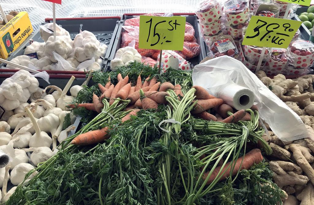 The farmer's market (Source: Sania)