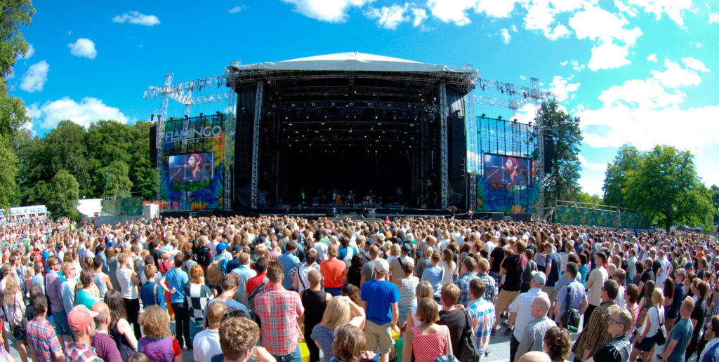 The vibrant city and its famous music festival (Source: Rodrigo Rivas Ruiz/imagebank.sweden.se)