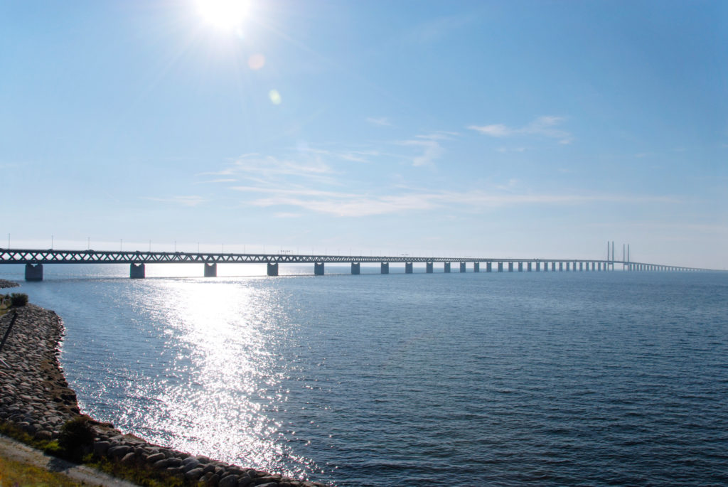 Öresund bridge that connects Sweden and Denmark (Source: Silvia Man/imagebank.sweden.se)