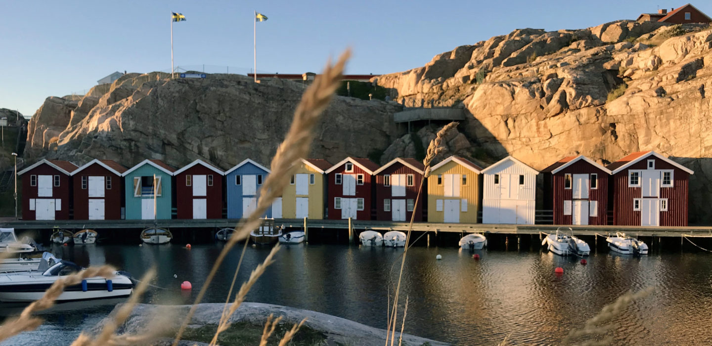 The famous Smögenbryggan in the evening (Source: Sendy Ariani)