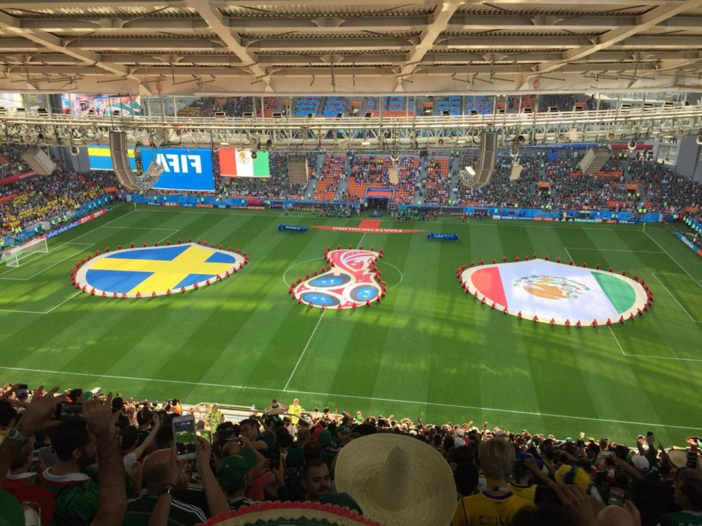 Sweden vs Mexico, Russia 2018/ Photo Credit, Andrés