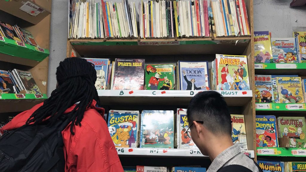 Now is the right time to read comic books according to Usi and Bowen (Source: Sania)